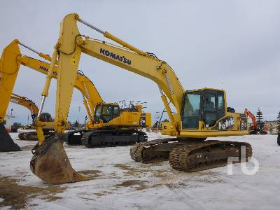 2017 KOMATSU HB215LC-1 Hybrid Hydraulic Excavator