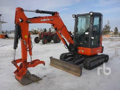 2016 KUBOTA U35-4 Mini Excavator (1 - 4.9 Tons)