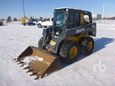 2012 JOHN DEERE 332D 2 Spd Skid Steer Loader