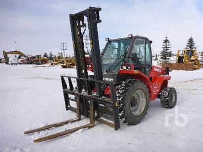 2011 MANITOU M50-4H Rough Terrain Forklift