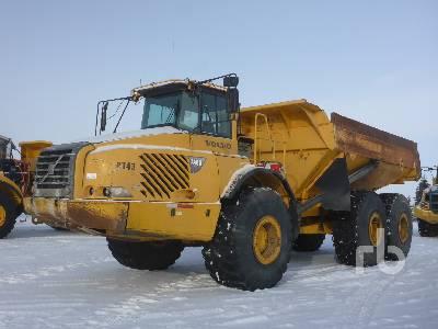 2004 VOLVO A40D 6x6 Articulated Dump Truck