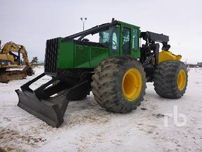 2004 JOHN DEERE 748G 4x4 Grapple Skidder