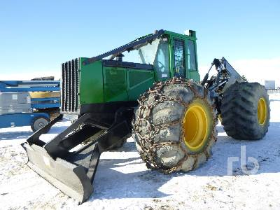 2005 JOHN DEERE 748G Series III Grapple Skidder