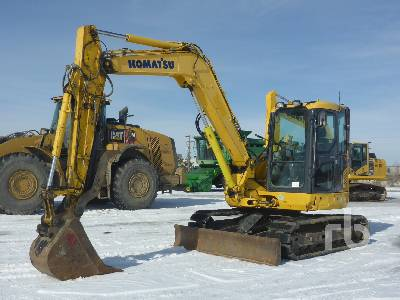 2014 KOMATSU PC88MR-10 Midi Excavator (5 - 9.9 Tons)