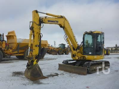 2014 KOMATSU PC88MR-8 Midi Excavator (5 - 9.9 Tons)