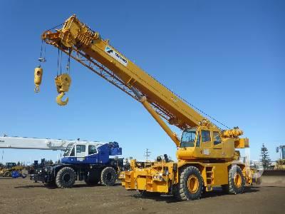 2009 TADANO GR500XL 50 Ton 4x4x4 Rough Terrain Crane
