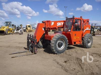 2000 SKYTRAK 80422 4x4x4 Telescopic Forklift