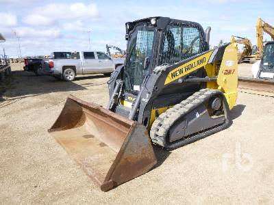 2011 NEW HOLLAND C227 2 Spd Compact Track Loader