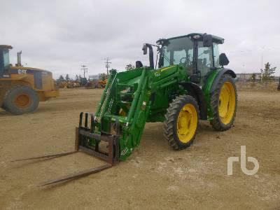 2018 JOHN DEERE 5115R MFWD Tractor