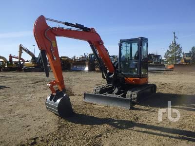 2017 HITACHI ZX55U-5A CLR Midi Excavator (5 - 9.9 Tons)