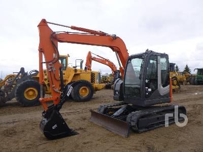 2012 HITACHI ZX75US-3 Midi Excavator (5 - 9.9 Tons)