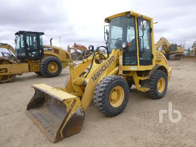 2003 NEW HOLLAND LW50B Wheel Loader