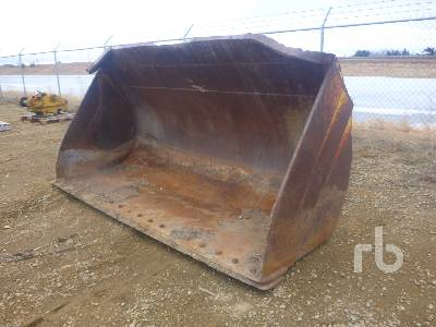 CATERPILLAR Q/C 114 In. Wheel Loader Bucket