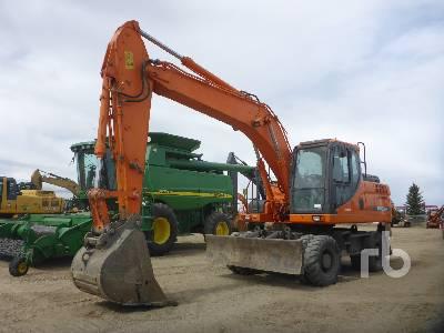 DOOSAN DX190W-3 4x4 Mobile Excavator