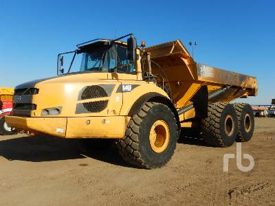 2012 VOLVO A40F 6x6 Articulated Dump Truck