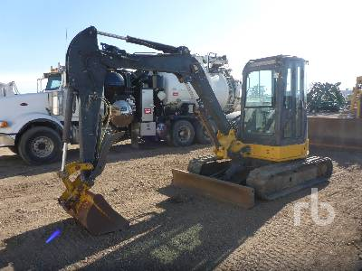 2009 JOHN DEERE 50D Midi Excavator (5 - 9.9 Tons)