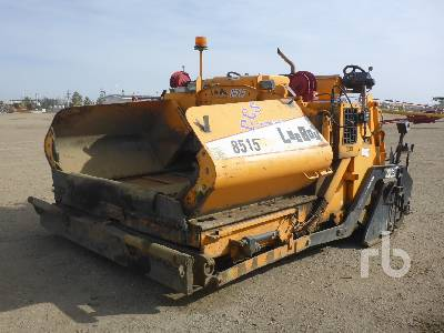 2006 LEEBOY 8515 Crawler Asphalt Paver