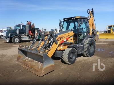 2014 CASE 590SN 4x4 Loader Backhoe