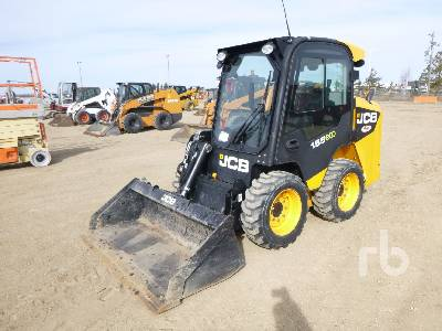 2011 JCB 155 Skid Steer Loader