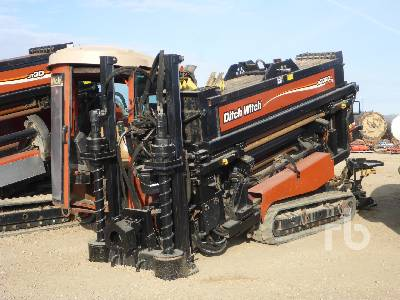 2011 DITCH WITCH JT3020 Mach 1 Crawler Directional Drill