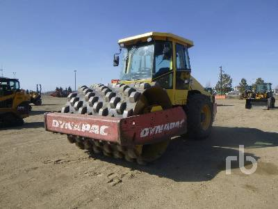 2005 DYNAPAC CA262PD Vibratory Padfoot Compactor