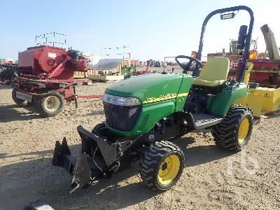 2009 JOHN DEERE 2305 MFWD Utility Tractor