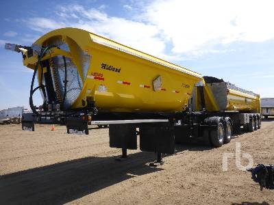 2016 MIDLAND MG30TW2500 30 Ft Super B-Train Lead Side Dump Trailer