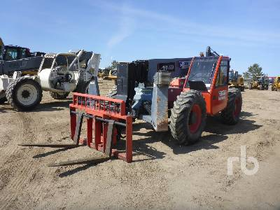 2012 SKYJACK VR1056D 4x4x4 Telescopic Forklift