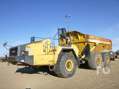 2008 KOMATSU HM400-2 6x6 Articulated Dump Truck
