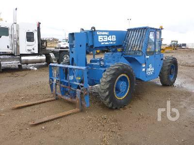 1989 GRADALL 534B8 4x4 Telescopic Forklift
