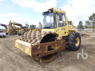 2008 BOMAG BW213 Vibratory Padfoot Compactor