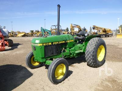 1989 JOHN DEERE 2155 Utility Tractor