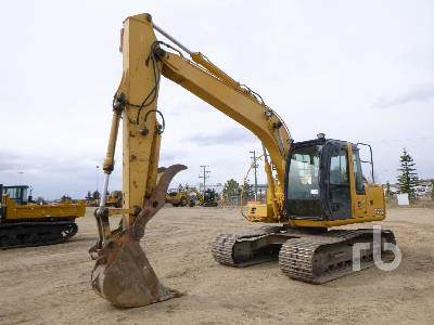 2008 JOHN DEERE 120C Hydraulic Excavator
