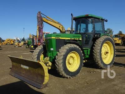 1988 JOHN DEERE 3155 MFWD Tractor
