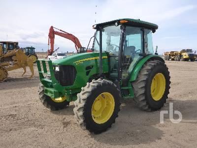 2012 JOHN DEERE 5075M MFWD Tractor