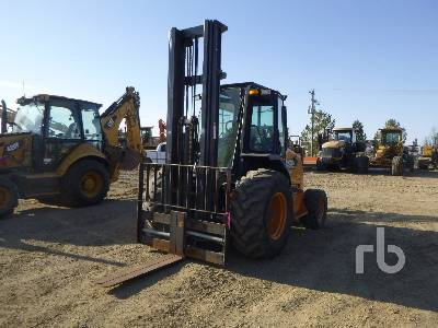 2014 CASE 586H 4x4 Rough Terrain Forklift