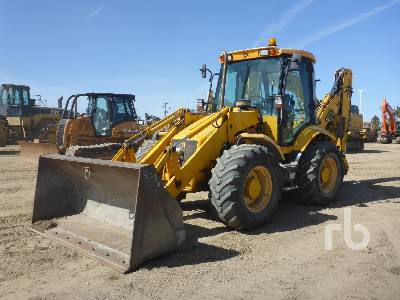 2003 JCB 214S 4x4x4 Loader Backhoe