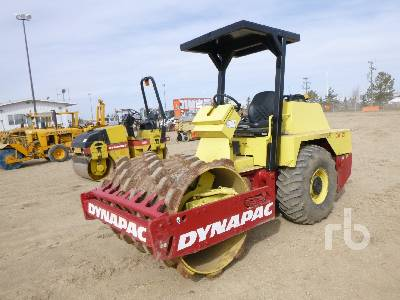 2006 DYNAPAC CA121PD Vibratory Padfoot Compactor