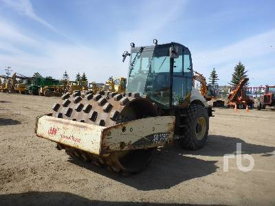 2008 INGERSOLL-RAND SD116DX TF Vibratory Padfoot Compactor