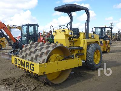 1997 BOMAG BW172PD Vibratory Padfoot Compactor