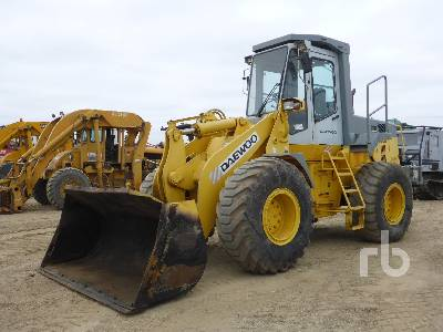 1996 DAEWOO MG200 Wheel Loader