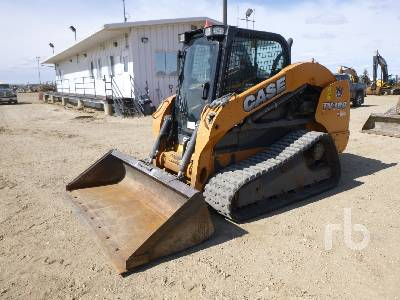 2014 CASE TV380 2 Spd Compact Track Loader