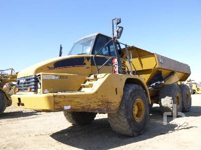 2007 CATERPILLAR 740 6x6 Articulated Dump Truck