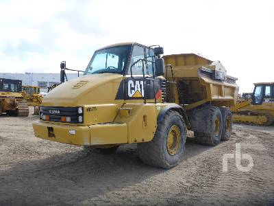 2006 CATERPILLAR 730 Ejector 6x6 Articulated Dump Truck