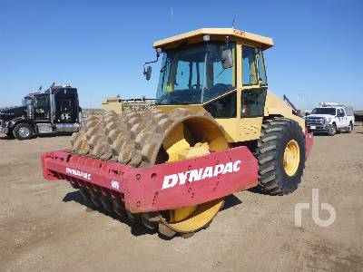 2006 DYNAPAC CA362D Vibratory Padfoot Compactor