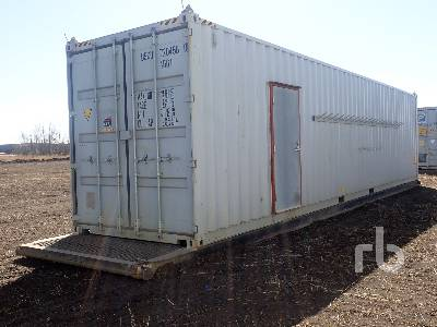 48 Ft Insulated High Cube Tool Crib Container