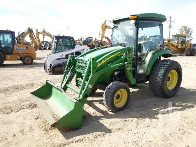 2006 JOHN DEERE 4320 MFWD Utility Tractor