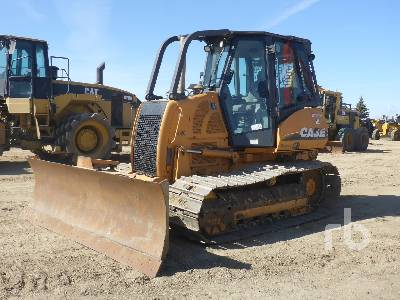 2009 CASE 650K Crawler Tractor