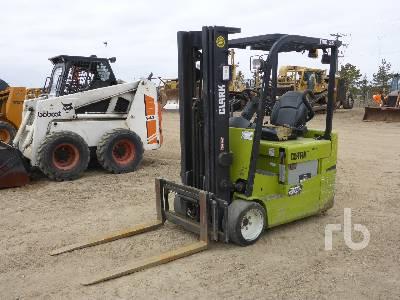 2011 CLARK TMX25 5000 Lb Electric Forklift