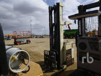 1996 CROWN RD3000 3000 Lb Electric Forklift
